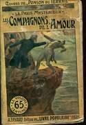 Editions Fayard Ponson Du Terrail  Le Paris Mysterieux  Les Compagnons De L'amour - Arthème Fayard - Autres