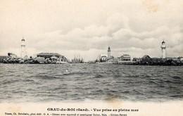 CPA - 30 - LE GRAU DU ROI - Vue Prise En Pleine Mer - Le Grau-du-Roi