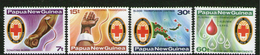 PAPUA NEW GUINEA, 1980 RED CROSS 4 MNH - Papouasie-Nouvelle-Guinée