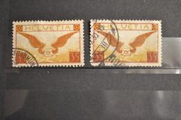 Lot De Timbres Suisse Anciens Poste Aérienne 1929 En 2 Exemplaires