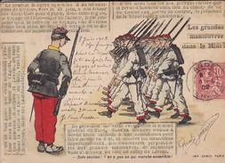 MILITARIA--81 CASTRES ?----(les Grandes Manoeuvres Dans Le Midi)---illust. ?--voir 2 Scans - Manoeuvres