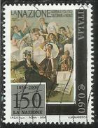 ITALIA REPUBBLICA ITALY REPUBLIC 2009  QUOTIDIANO LA NAZIONE DI FIRENZE USATO USED OBLITERE´ - 6. 1946-.. Repubblica