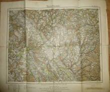 Karte Des Deutschen Reiches - 513 Kulmbach - Maßstab 1:100'000 - Umdruckausgabe! 1885 Nachträge 1922 - Topographische Karten