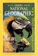 National Geographic - Vol 185, No 1 - Inhalt: Macaws, New Eyes On The Universe, The Great Flood Of '93, Des Moins Rides - Bücher, Zeitschriften, Comics