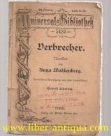 Verbrecher: Novellen übersetzt Aus Dem Schwedischen;Universalbibliothek, Nr.5433 - Bücher, Zeitschriften, Comics