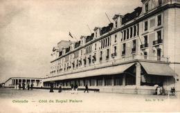 BELGIQUE - OSTENDE - COTE DU ROYAL PALACE - Oostende