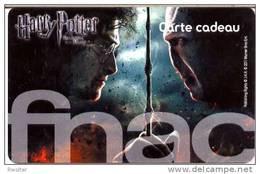 @+ Carte Cadeau - Gift Card : FNAC - Harry Potter - France