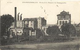 CHAMPIGNEULLES  - Entrée De La Brasserie  31 - Other Municipalities
