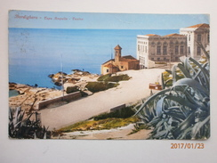 Postcard Bordighera Capo Ampelio Casino Imperia Liguria Italy My Ref B1685 - Imperia
