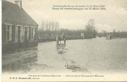 Ramp Der Overstroomingen Van 12 Maart 1906 Zicht Voorbij De Olieslagerij Te Moerzeke (4083) - Beveren-Waas