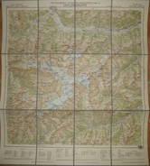 Carta Turistica Gruppo Dell' Ortles - Freytag-Berndt Touristen-Wanderkarte Blatt 46 Ortlergruppe - 53cm X 59cm Maßstab 1 - Landkarten