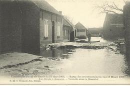 Ramp Der Overstroomingen Van 12 Maart 1906  Vernielde Straat Te Moerzeke (4086) - Hamme