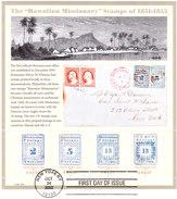 VERINIGTE STAATEN ETATS UNIS USA 2002 Hawaiian Missionary SH FD CANCEL SC 3694sp YT F3390-3393 MI B58-3652-55 SG MS4192 - Blocs-feuillets