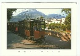 MALLORCA SOLLER  PASSAGE D UN TRAM  TRAMWAY - Tramways