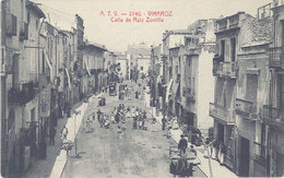 Cpa Espagne – Vinaroz – Calle De Ruiz Zorrilla - Espagne
