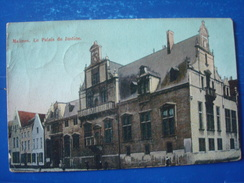 MALINES : Le Palais De Justice En 1912 - Machelen