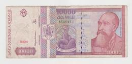 ROMANIA  10000 LEI  1994 BANCONOTA CIRCOLATA - Romania