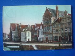 MALINES : Quai Au Sel En 1912 - Machelen