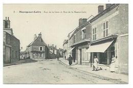 45 - MEUNG-SUR-LOIRE - (8.) - Rue De La Gare Et Rue De La Haute-Croix - CPA - Non Classés