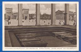Deutschland; München; Propaganda; Hauptstadt Der Bewegung; Ewige Wache; Stempel 1938 - München