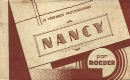 Nancy Carnet Complet 10 Cartes Photos - Nancy