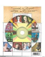 Belg. 2008 - COB N° 3849 à 3858 ** - La Musique Belge - Unused Stamps