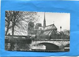 """Marcophilie-lettre Carte En Préo N° 107-pub""""pont De L'archevéché Paris"""" Pharma-Bellon-Paris  Françe>Algérie Années 50- - Poststempel (Briefe)"""