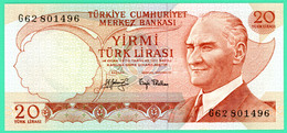 20 Lirasi - Turquie - N° G62801496 - Spl - - Turkey