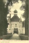 Saint Benoit Sur Vanne. La Porte Monumentale Du Chateau . - Francia