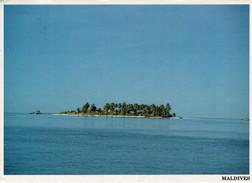 MALDIVES    VEDUTA   2  SCAN       ( VIAGGIATA) - Maldive