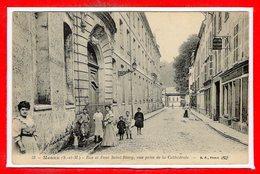 77 - MEAUX -- Rue Et Pont St Rémy - Meaux
