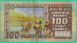 100 Francs - Madagascar - N° A/30 063833 - TTB - - Madagascar