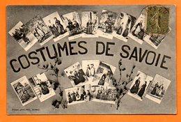 73 COSTUMES DE SAVOIE Carte Voyagée  N° 46335 - Autres Communes