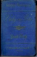 GUIDE CONTY De 1888 - VICHY En Poche - 210 Pages + 36 Pages (Agenda Du Voyageur) + 72 Pages De Publicité - Auvergne