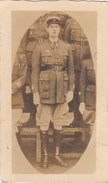 PHOTO 85mmx50mm Général De Gaulle En Uniforme (lieutenant Ou Aspirant???) - Famous People