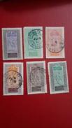 HAUT SENEGAL ET NIGER:colonies Francaise  1914-17 Timbres N°18,21,22,23,26,30 Oblitérés - Used Stamps