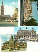 Antwerpen Gent Paris  Wien ( 4 CP Avec Cox VW Ou Combi ) - Belgique