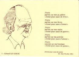 GERARD LE GOUIC   REF 50588 - Schriftsteller