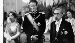 Postcard / ROYALTY / Belgium / Belgique / Roi Baudouin / Koning Boudewijn / Hirohito / 1971 - Japon