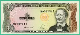 1 Peso - Republique Dominicaine - N° M959754T -1988 -  Neuf - - Dominicaine