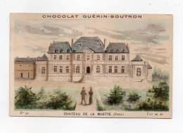 Chromo - Chocolat Guérin Boutron - Chateau De La Muette (Passy) - Guérin-Boutron