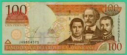 100  Pesos - Republique Dominicaine - N° JA9564575 - 2003 - TTB+ - - Dominicana