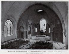 1925  --  08 ARDENNES  --   L EGLISE DES MINIMES A RETHEL   C.709 - Vieux Papiers