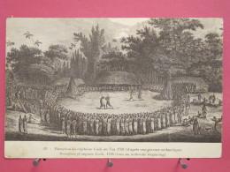 Océanie - Réception Du Capitaine Cook En 1768 (à Hapaee - Tonga) - Bon état - Scans Recto-verso - Tonga