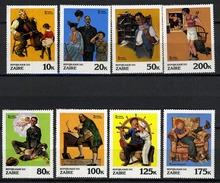 1981 - ZAIRE - Mi. Nr. 708/715 - NH - (CW2427.23) - Antille