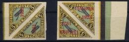 Estland Estonia Estonie: Mi 41 + 42 In Pairs MNH/**/postfrisch/neuf Sans Charniere 1923  Airmail - Estonie