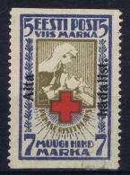Estland Estonia Estonie: Mi 47 A Uw MNH/**/postfrisch/neuf Sans Charniere 1923 Signed/ Signé/signiert/ Approvato - Estonie