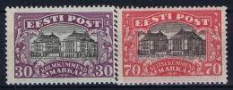 Estland Estonia Estonie: Mi 55 - 56 MNH/**/postfrisch/neuf Sans Charniere 1924 Irregular Gum As Usual - Estland