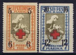 Estland Estonia Estonie: Mi 60 Uw - 61 Uw MNH/**/postfrisch/neuf Sans Charniere 1926 - Estonie