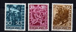 Serie Nº 356/8 Liechtenstein - Liechtenstein
